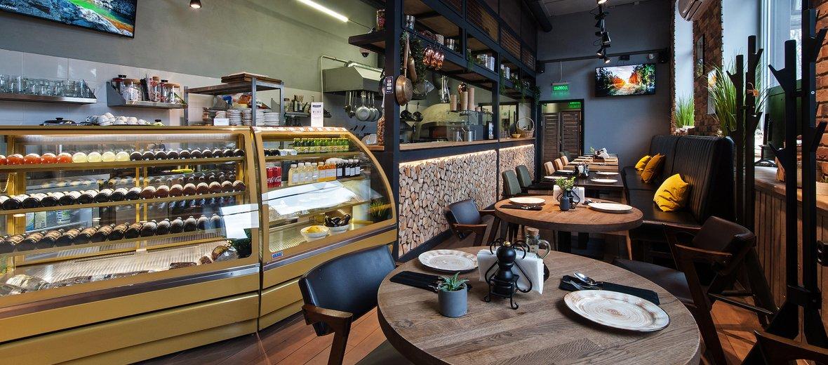 Фотогалерея - Семейное кафе Fratelli на Центральной улице в Красногорске
