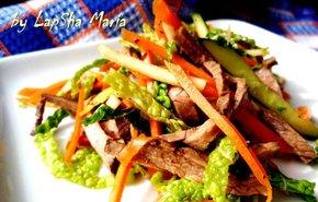 фотография Теплый салат