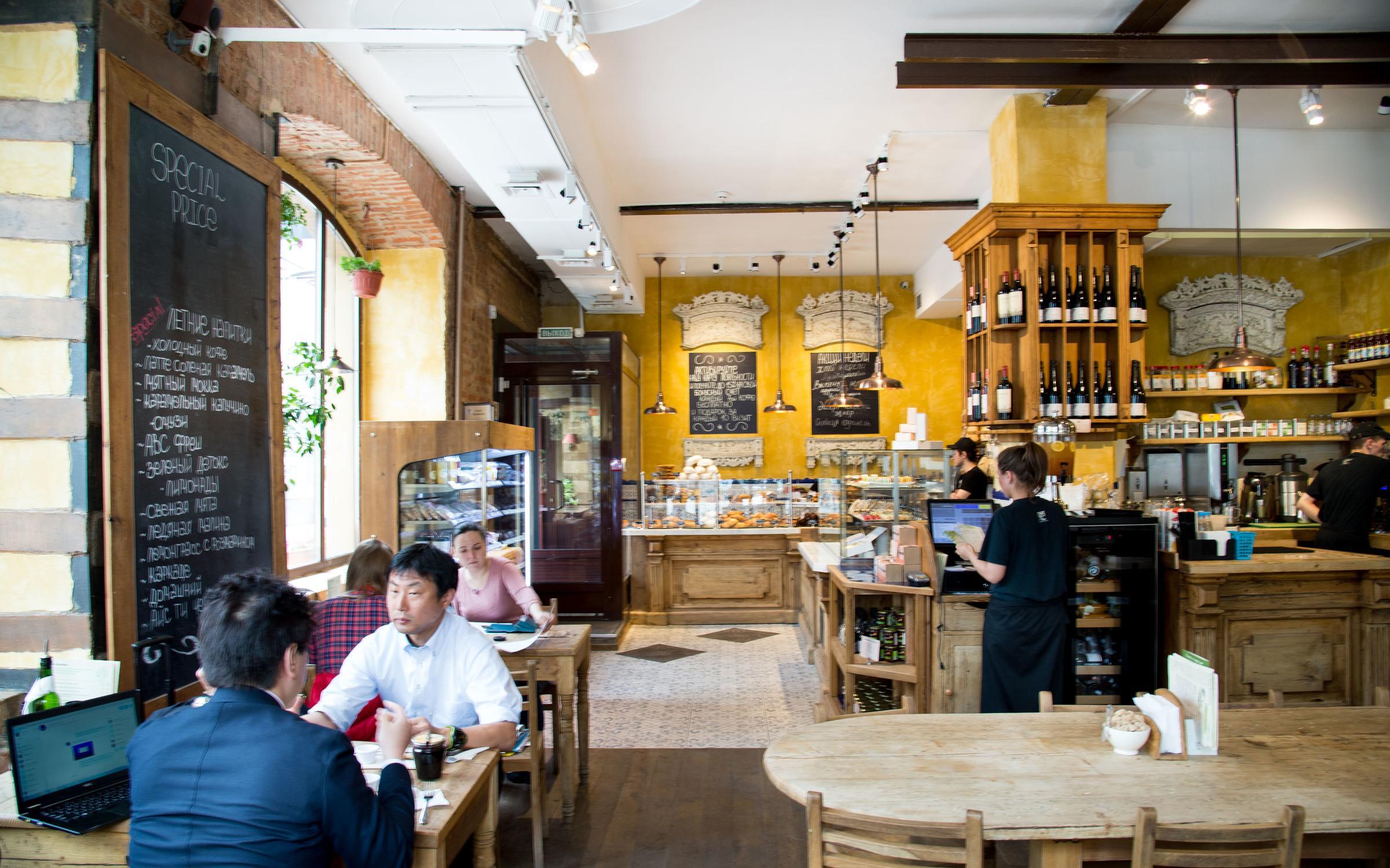 фотография Кафе-пекарни Le Pain Quotidien на Новинском бульваре