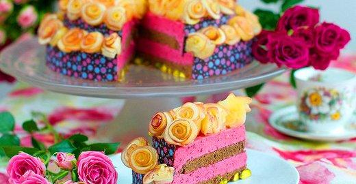 Цветы торт картинки