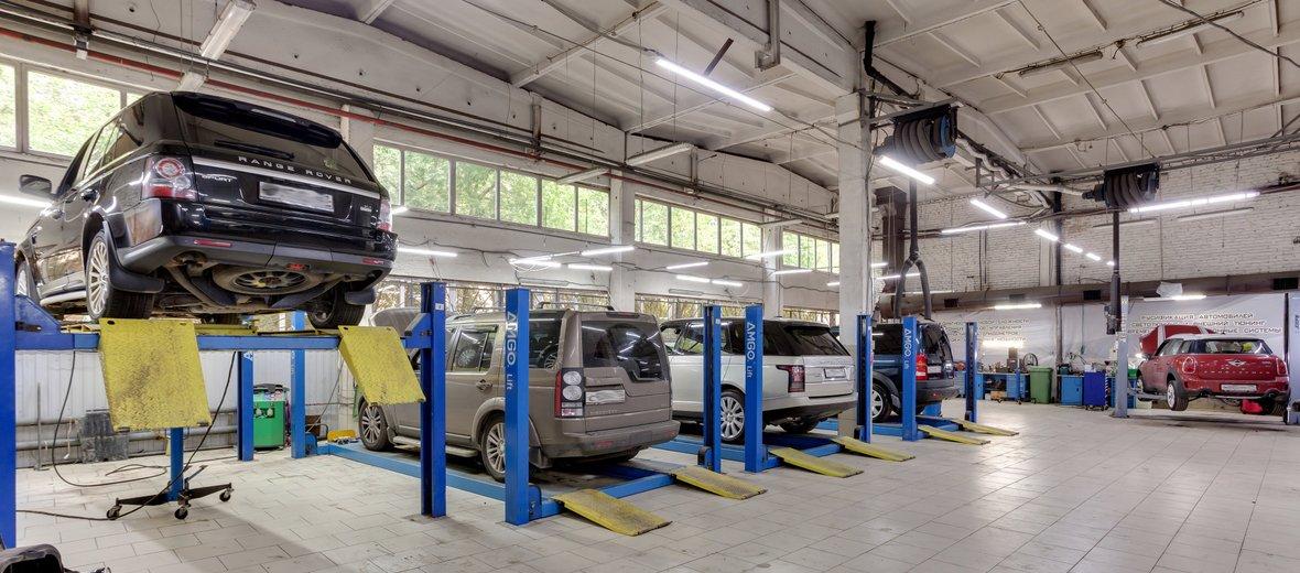 Фотогалерея - Сервис по ремонту и обслуживанию автомобилей Land Rover ЮГ