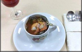 фотография Суп с морепродуктами
