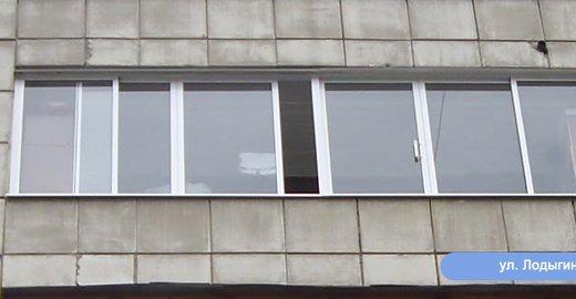 Окна остекление балконов галерея.