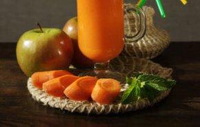 фотография Яблоко-морковь