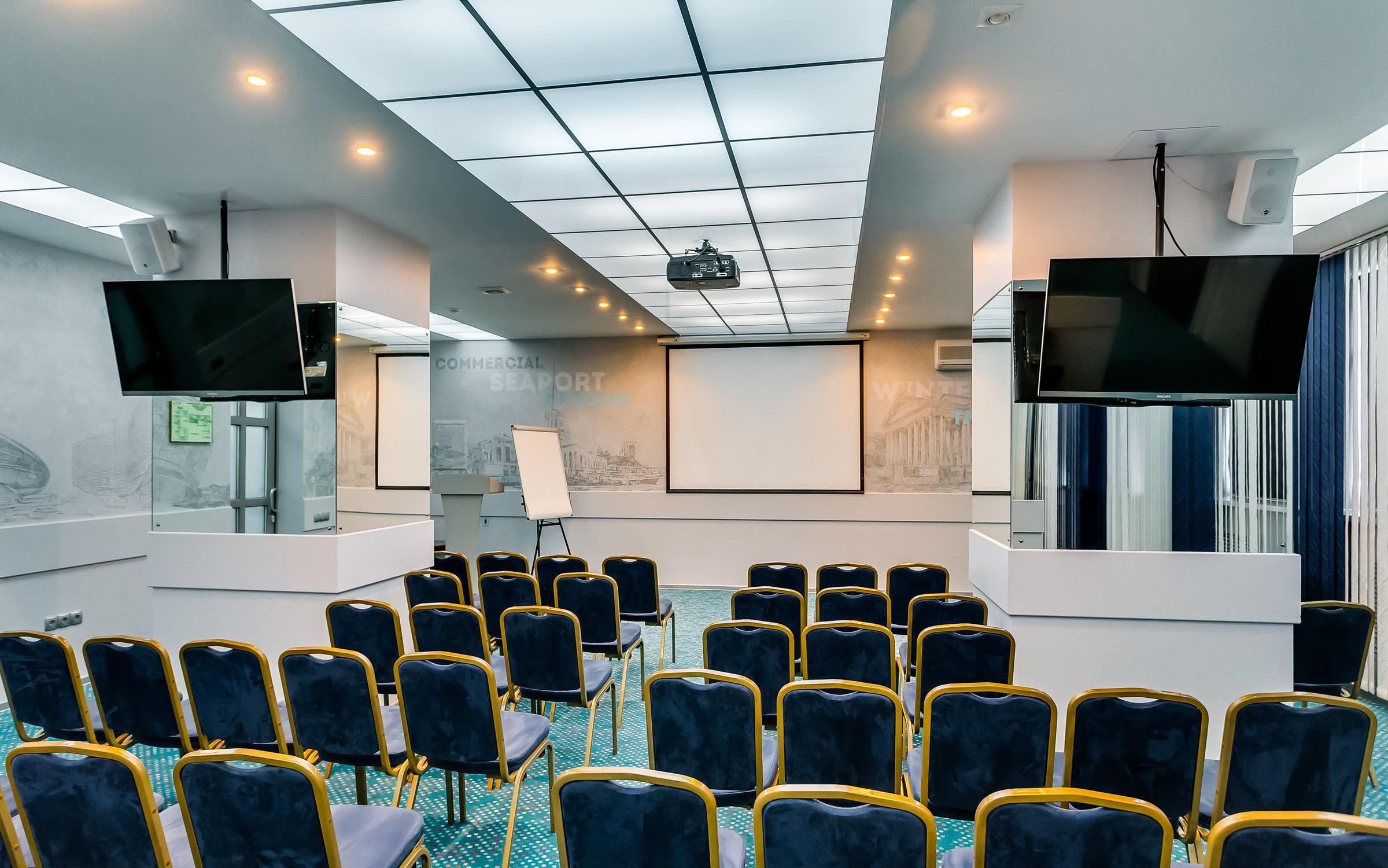 фотография Конференц-зала в Маринс Парк Отель на Буденновском проспекте, 59