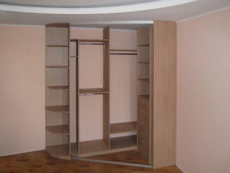 Угловые шкафы фото