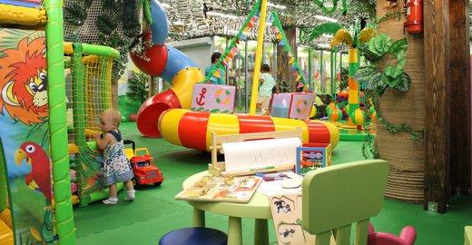фотография Детского центра Джунгли Казань в ТЦ Проспект