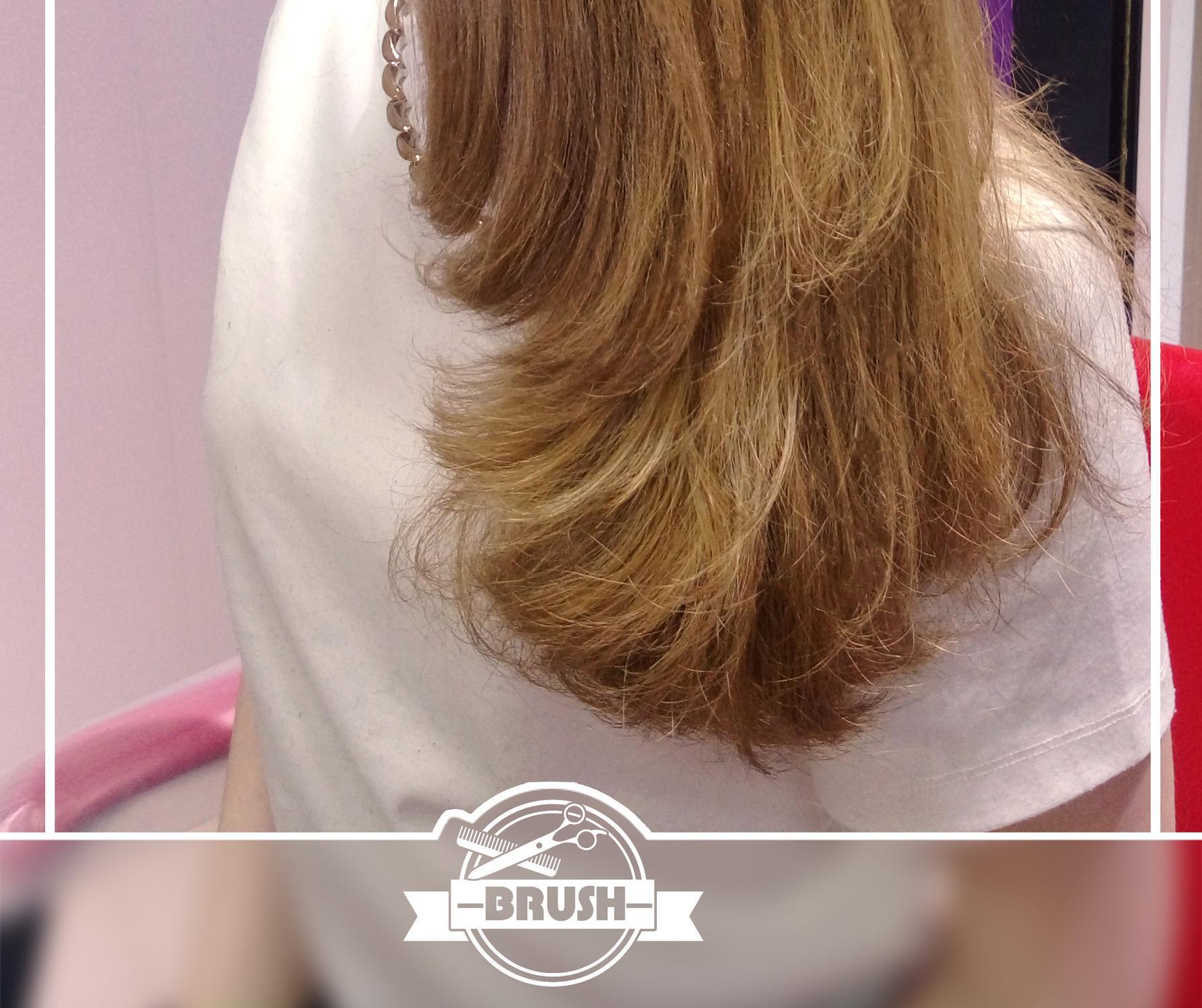 Ламинирование на длинные волосы