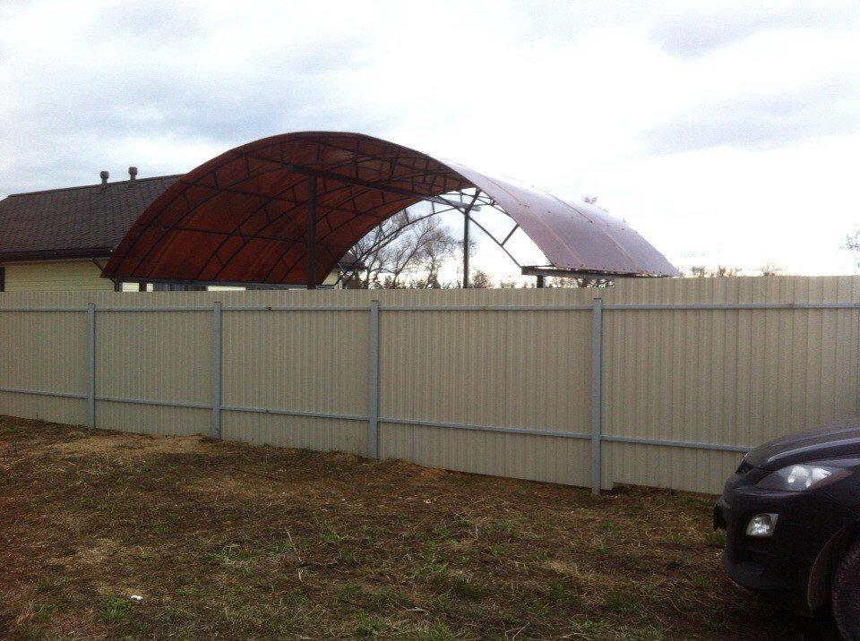 фотография Компании Купить забор в Москве и Московской области - заказ заборов онлайн.