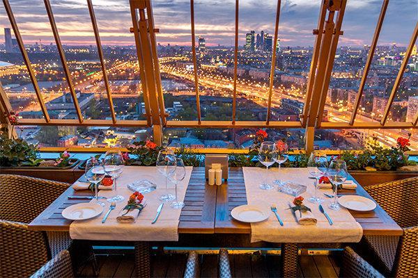 фотография Ресторана Sky Lounge в здании РАН