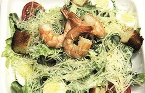 фотография Салат с морепродуктами
