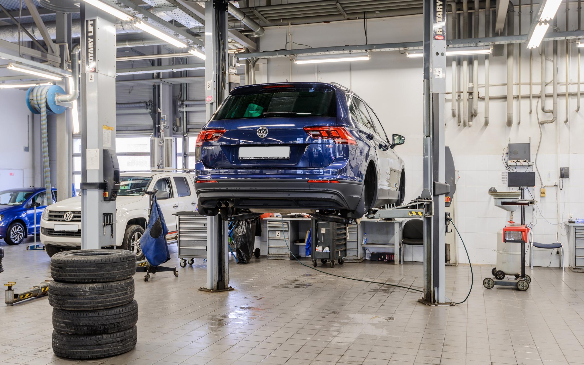фотография Официального сервиса Volkswagen Автоштадт Нева на Рыбинской улице